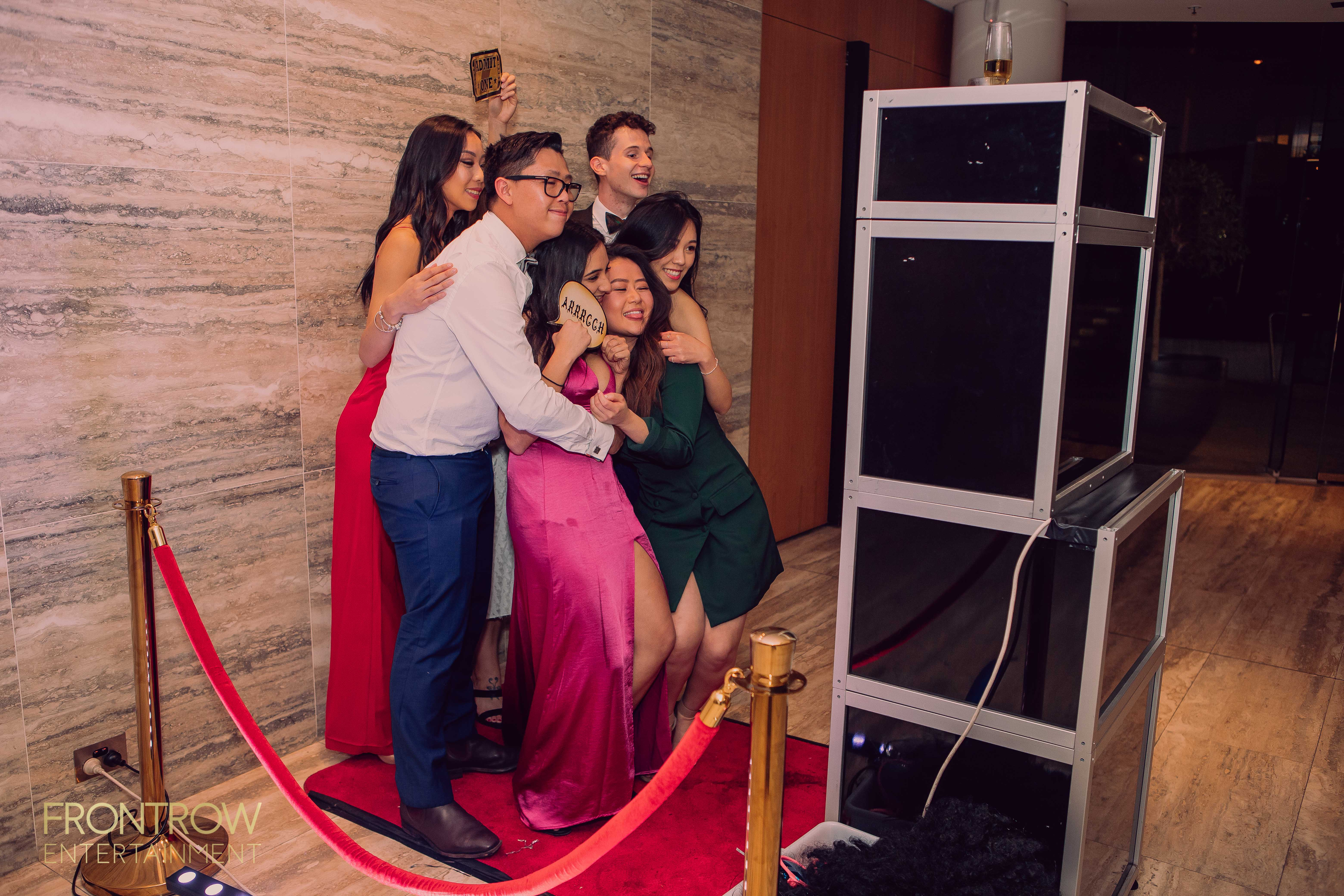 Classic Photo booth for hire by Front Row Entertainment