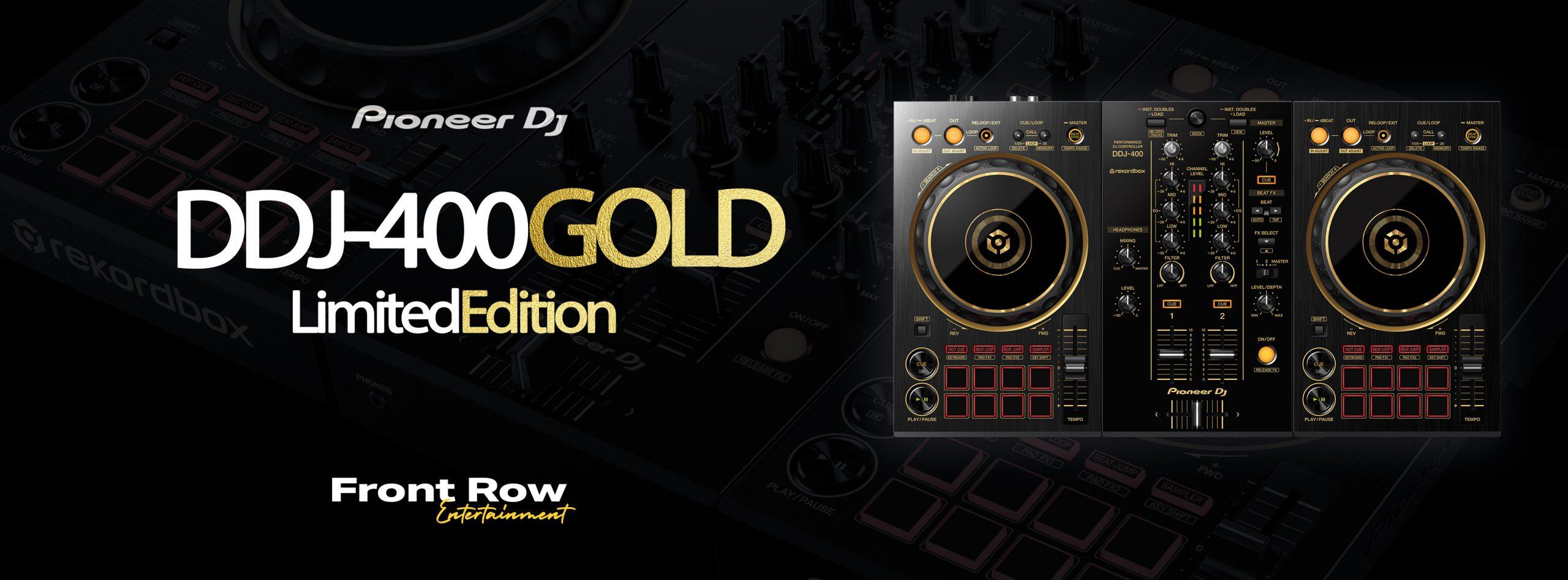 WIN a DDJ-400 Gold!