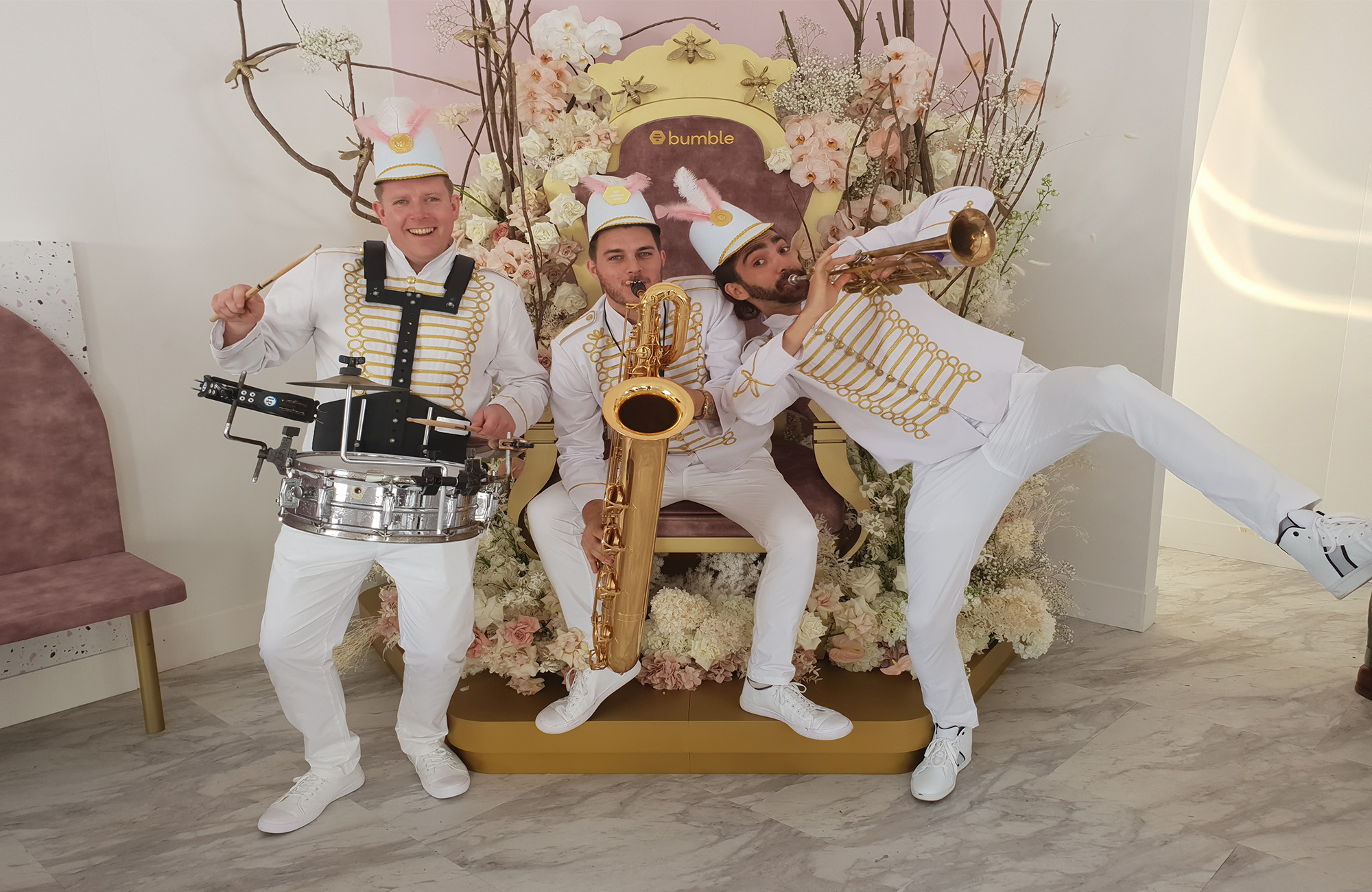 Wedding Brass Band for hire