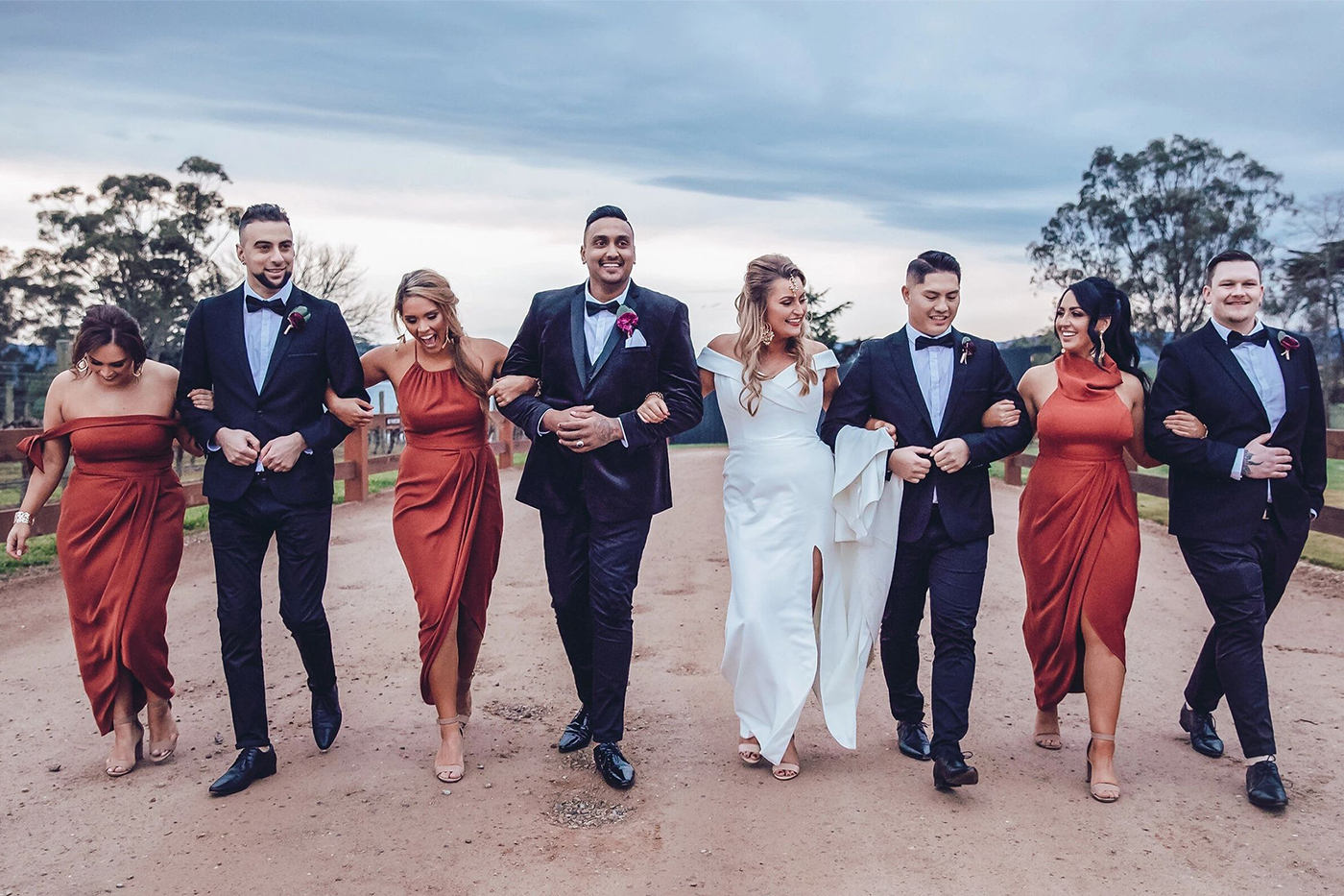Front Row wedding photography