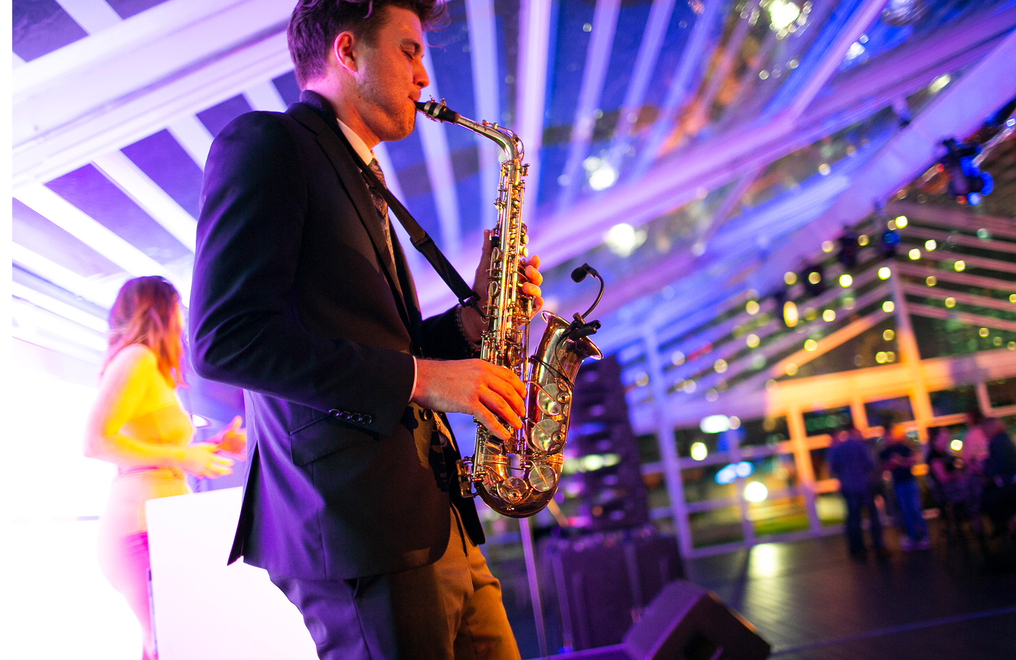 Wedding Saxophone Players